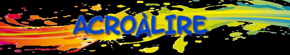 Acroàlire Logo